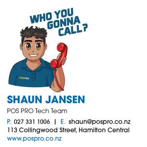 Shaun Jansen profile pospro