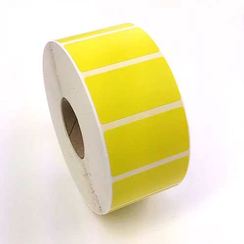 label 50 28 thermal permanent yellow