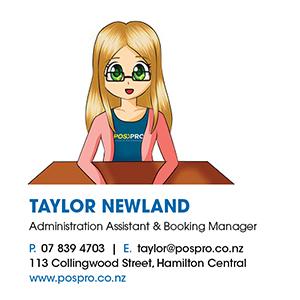 taylor newland profile pospro